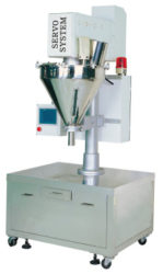 Semi-auto Auger Type Powder Metering Filling Machine (Bench Model)
