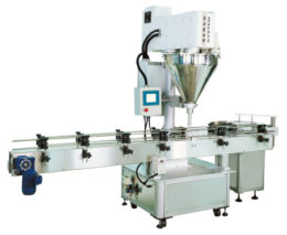 Automatic Auger Type Bottle / Can Metering Filling Machine