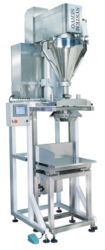 Semi-auto Auger Type Weighing Filling Machine